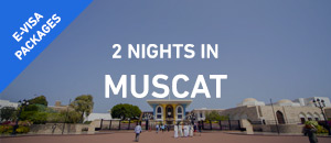 2 nights in Muscat - E-Visa |...