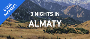 3 nights in Almaty - E-Visa |...