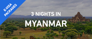 3 nights in Myanmar - E-Visa...